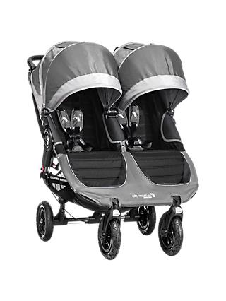 Baby Jogger City Mini GT Double Pushchair, Grey