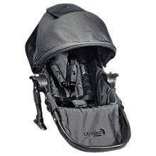 Buy Baby Jogger City Select Second Seat Kit, Grey Denim Online at johnlewis.com