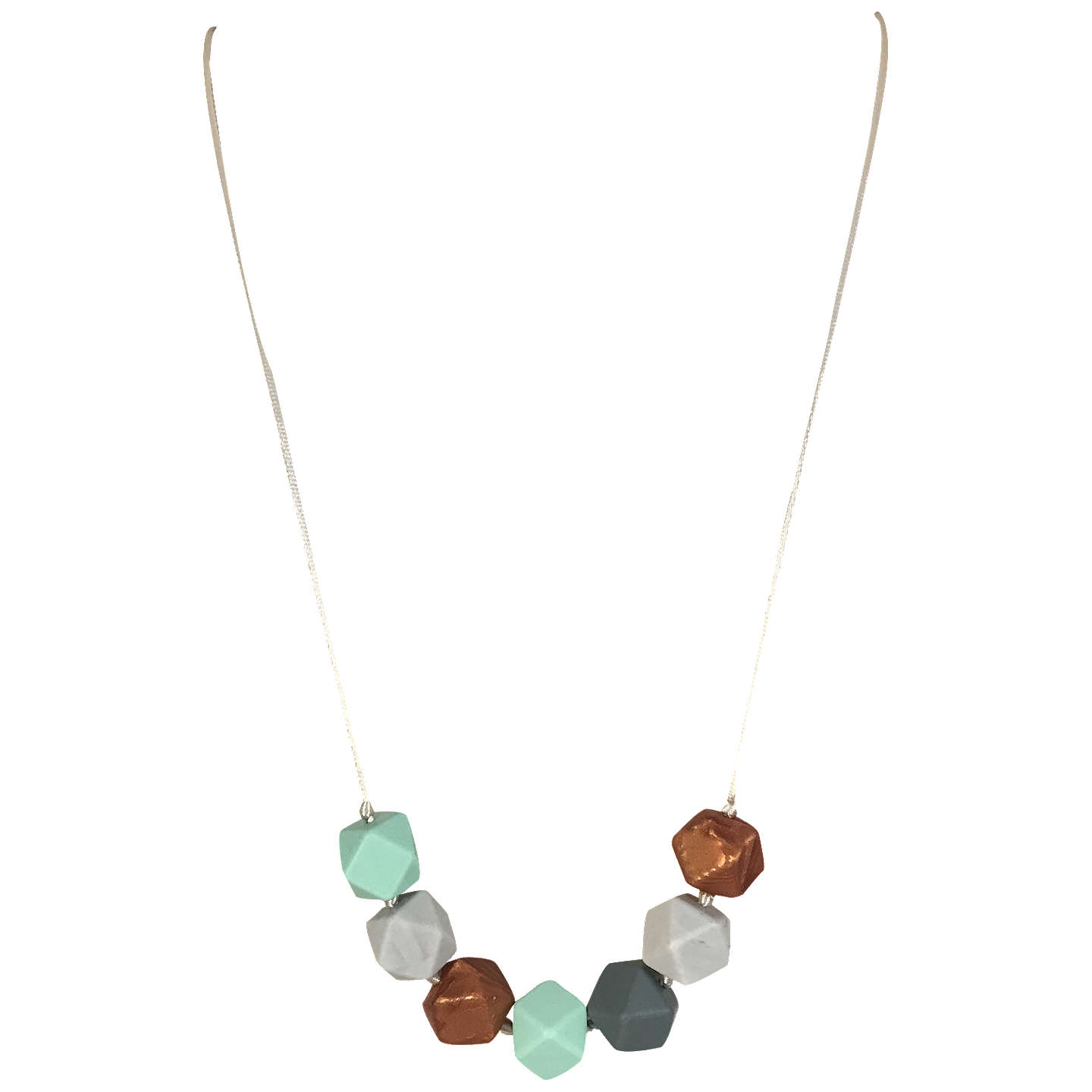 Mama belle aurora quartz teething necklace at john lewis buymama belle aurora quartz teething necklace mint online at johnlewis aloadofball Choice Image