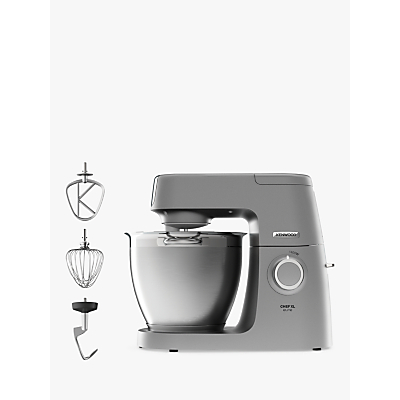 Kenwood KVL6100S Chef Elite XL Stand Mixer, Silver