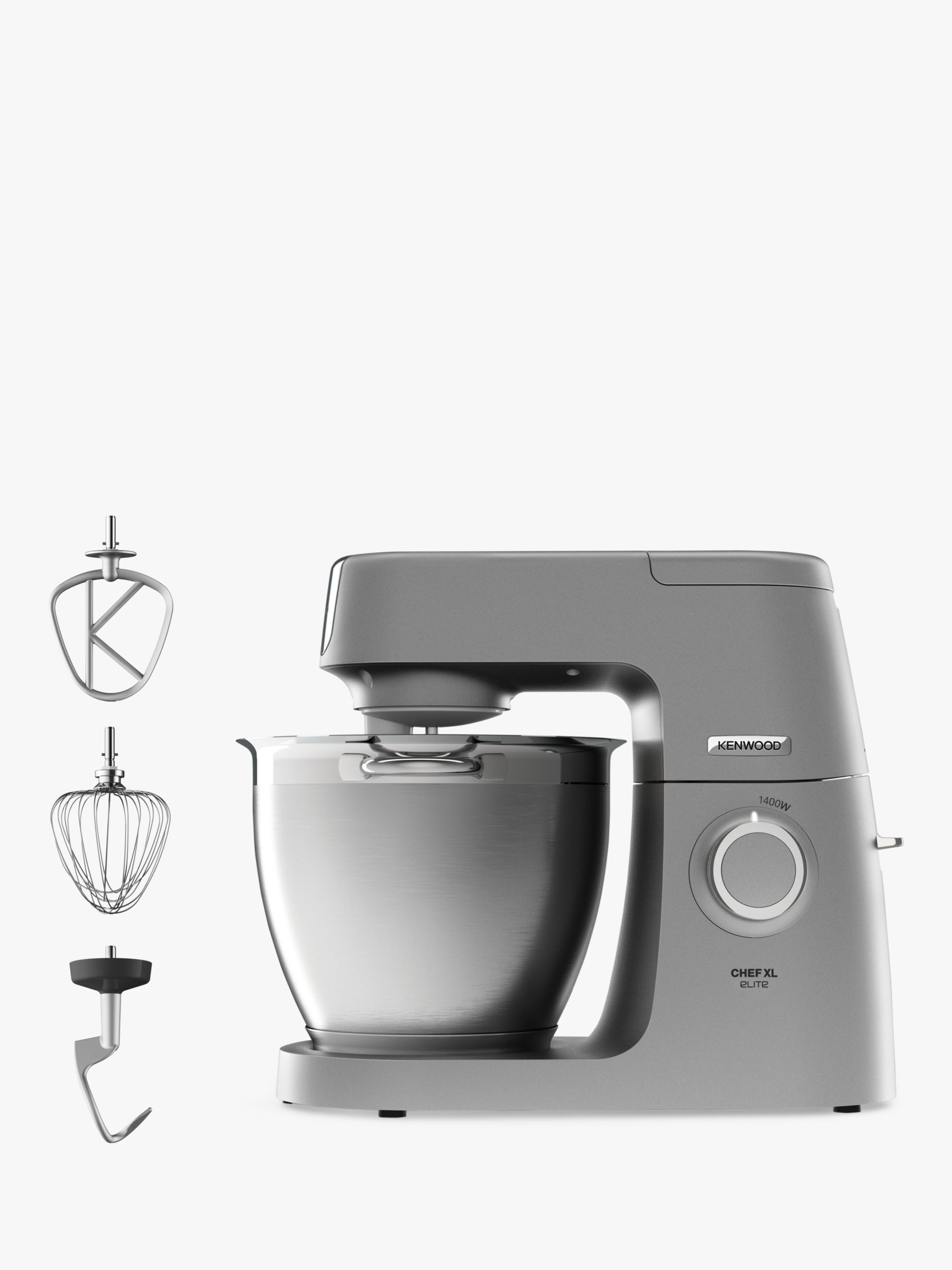 Kenwood Kenwood KVL6100S Chef Elite XL Stand Mixer, Silver