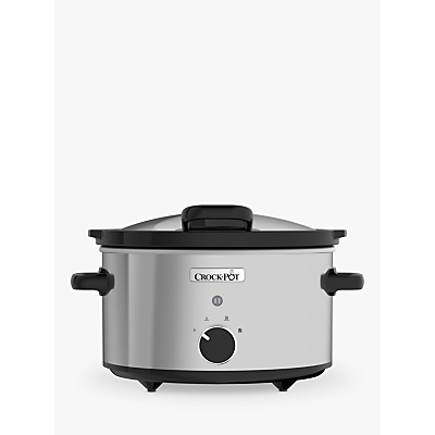 Crock-Pot CSC044 Slow Cooker, Stainless Steel Review thumbnail
