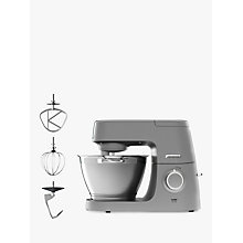 Buy Kenwood KVC5100S Chef Elite Stand Mixer, Silver Online at johnlewis.com