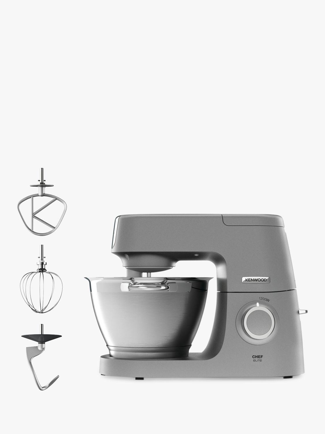 Kenwood Kenwood KVC5100S Chef Elite Stand Mixer, Silver