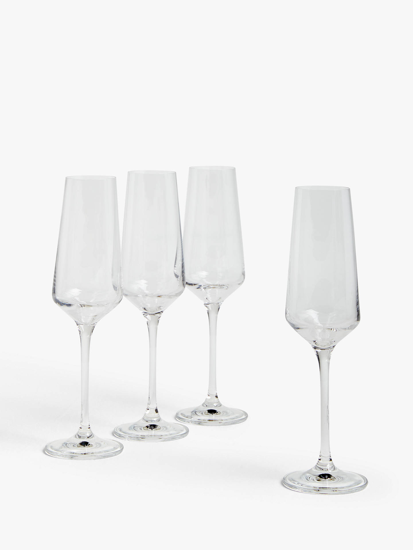 Buy House by John Lewis Drink Champagne Flutes, 210ml, Set of 4 Online at johnlewis.com