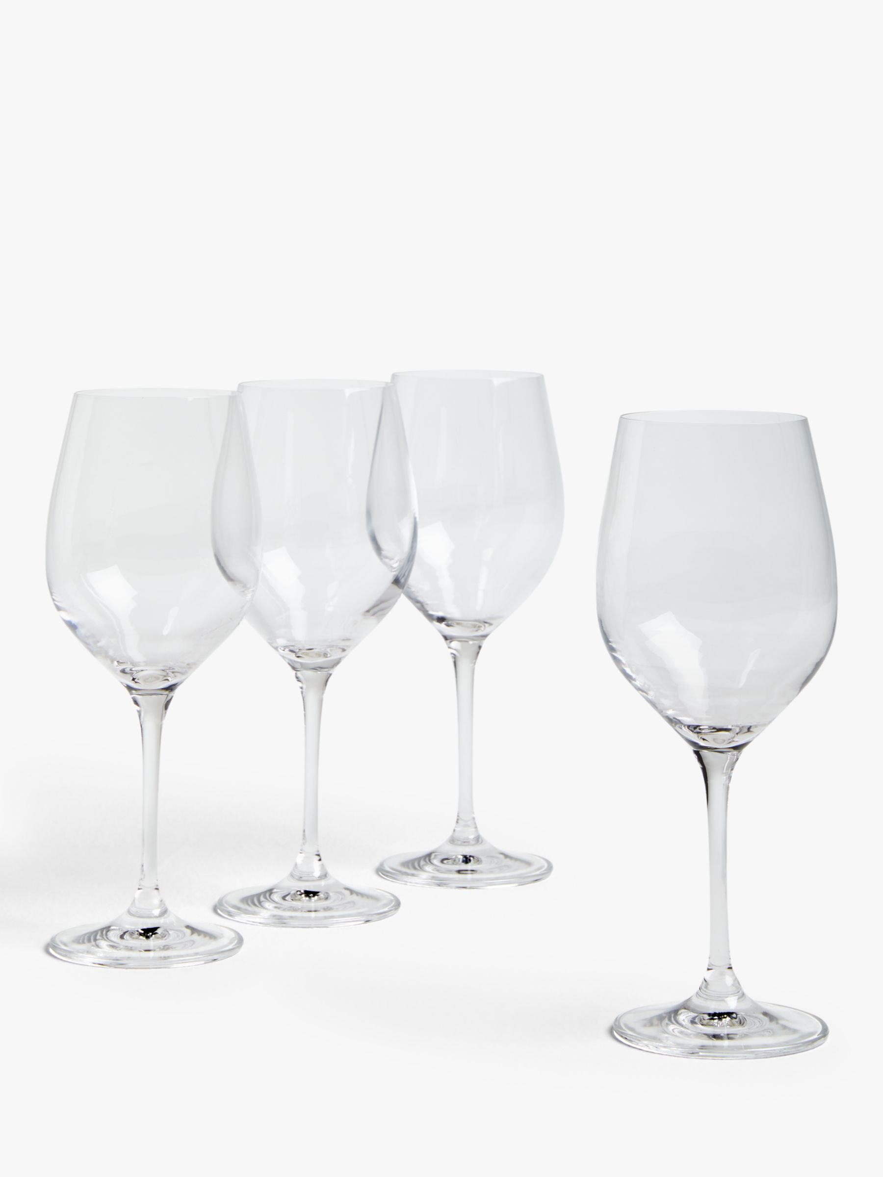 House by John Lewis House by John Lewis Drink Red Wine Glasses, 425ml, Set of 4