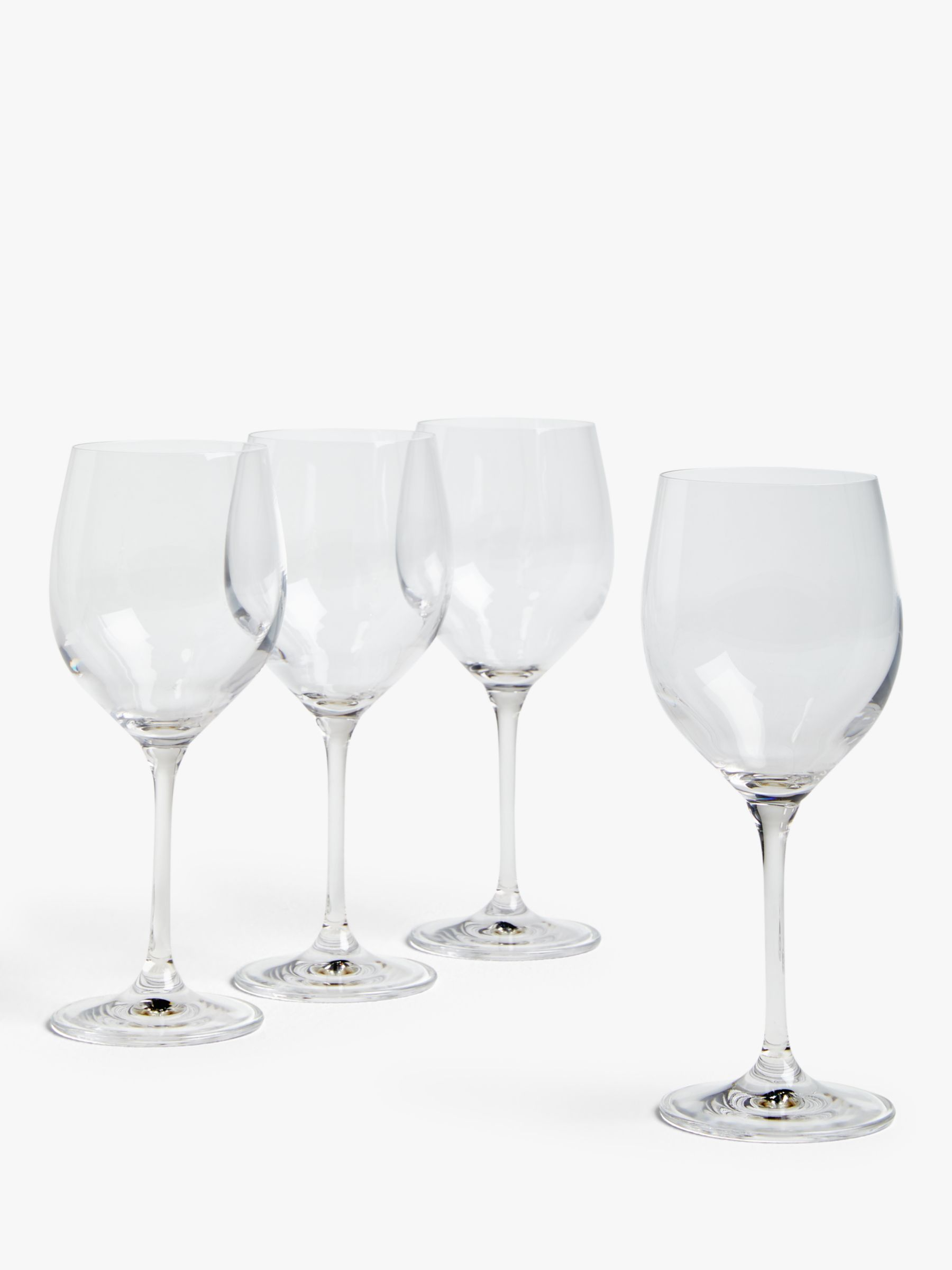 House by John Lewis House by John Lewis Drink White Wine Glasses, Set of 4, 380ml