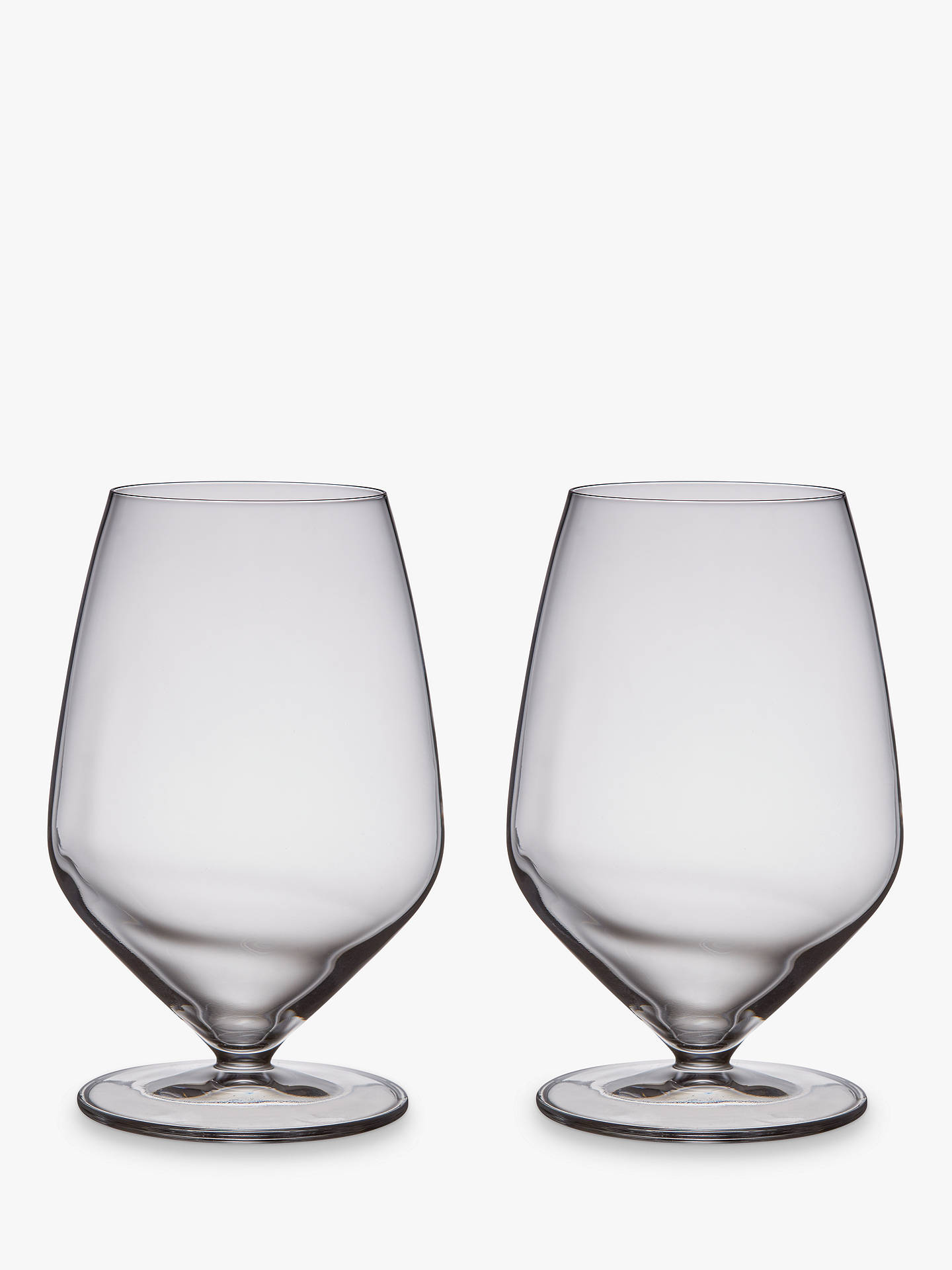 BuyJohn Lewis & Partners Connoisseur Beer Glasses, Clear, 700ml, Set of 2 Online at johnlewis.com