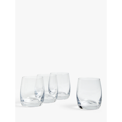Product photo of House by john lewis drink tumblers clear 250ml set of 4