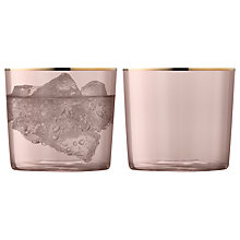Buy LSA International Sorbet Glass Tumbler, Set of 2, 310ml Online at johnlewis.com