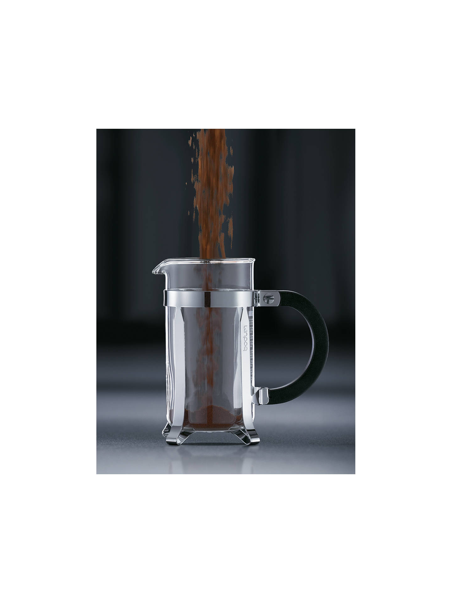Buy BODUM Chambord Coffee Maker, 3 Cup, Clear, 350ml Online at johnlewis.com