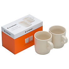 Buy Le Creuset Stoneware Mugs, 350ml, Set of 2 Online at johnlewis.com