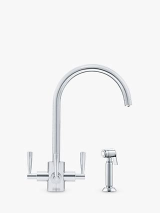 Franke Olympus FilterFlow Hand Spray 3 Lever Kitchen Tap