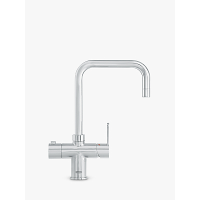 Franke Minerva 1 Lever Irena 3-in-1 Kitchen Tap, Chrome