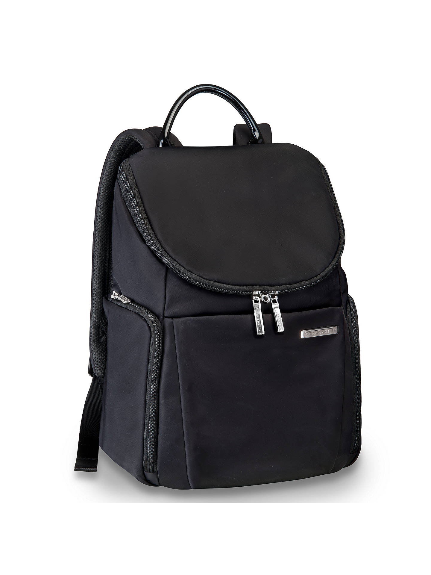 Buy Briggs & Riley Sympatico Backpack, Onyx Online at johnlewis.com