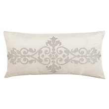 Buy John Lewis Blenheim Embroidered Cotton Cushion Online at johnlewis.com