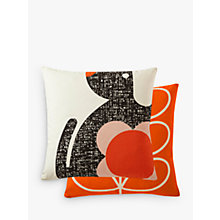 Buy Orla Kiely Poppy Dog Cushion, Multi Online at johnlewis.com