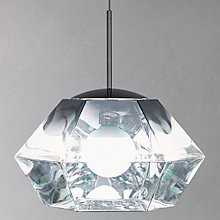 Buy Tom Dixon Cut Short Ceiling Pendant, Chrome Online at johnlewis.com