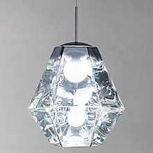 Buy Tom Dixon Cut Tall Ceiling Pendant Online at johnlewis.com