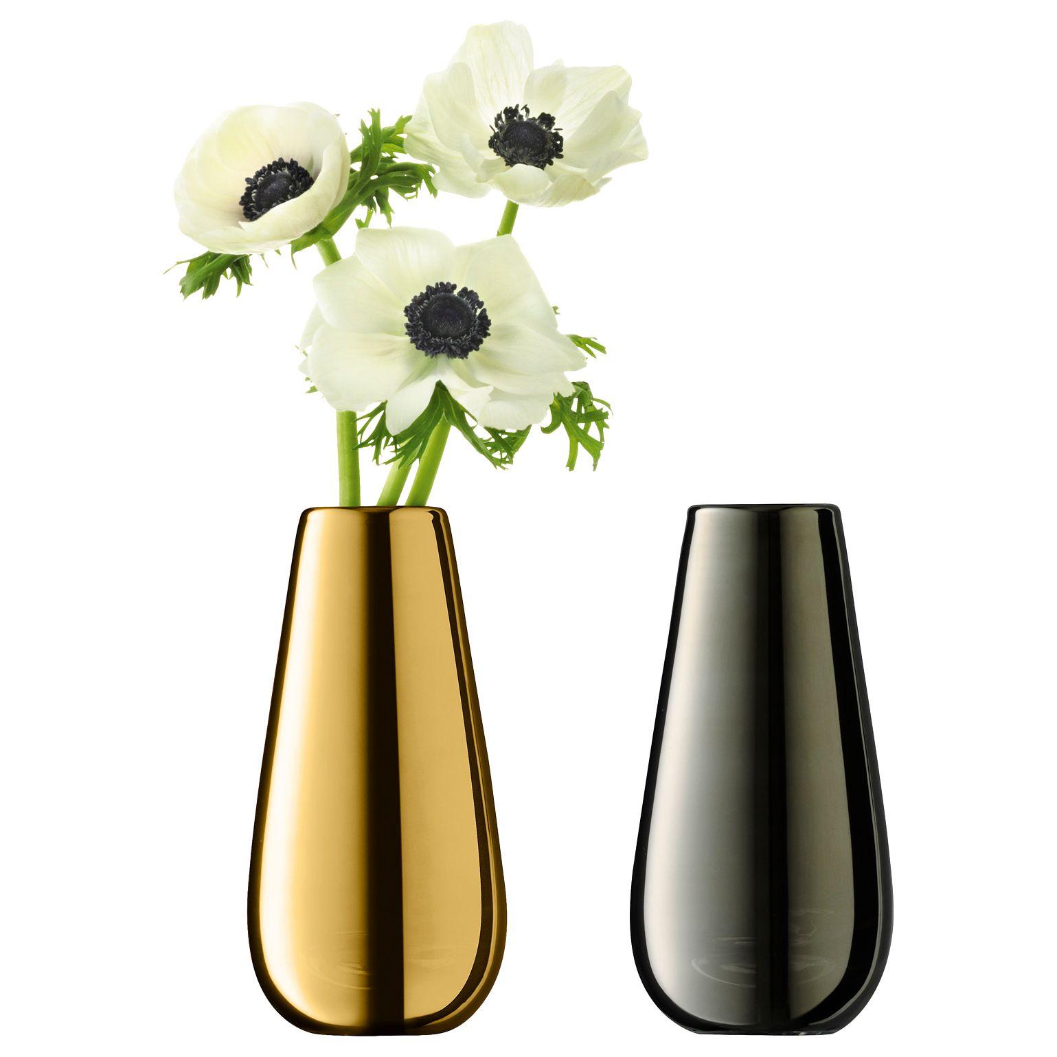 Lsa international flower metallic bud vase duo bluewater 3800 reviewsmspy