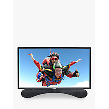 "Buy Linsar X24DVDMK2 LED Full HD 1080p TV/DVD Combi, 24"" with Freeview HD, Black Online at johnlewis.com"