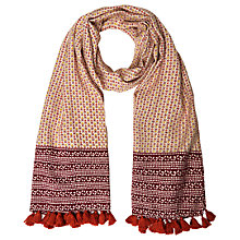 Buy White Stuff Sunrise Scarf, Red Online at johnlewis.com