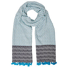 Buy White Stuff Sunrise Scarf, Blue Online at johnlewis.com