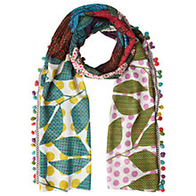 Buy White Stuff Polka Parrots Scarf, Multi Online at johnlewis.com