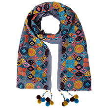 Buy White Stuff Fun In The Sun Scarf, Multi Online at johnlewis.com