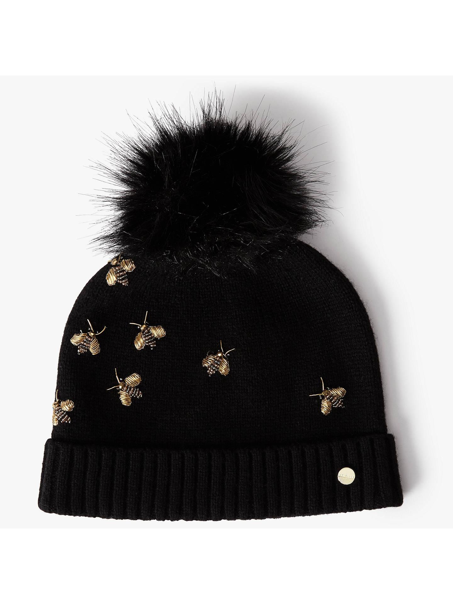 BuyTed Baker Arlea Bee Embellished Hat f480d268403d