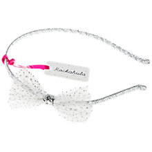 Buy Rockahula Children's Glitter Mesh Bow Alice Headband Online at johnlewis.com