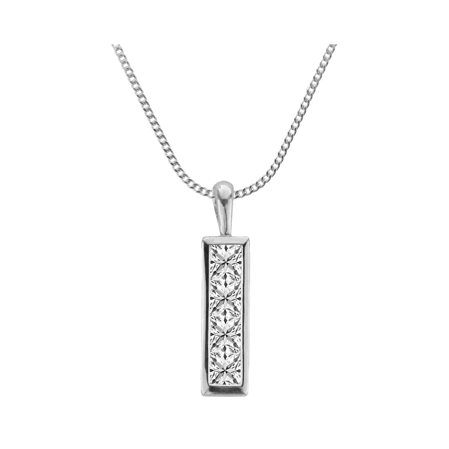 us zone pendant gold solid jewel dp diamond com rectangular frame amazon necklace natural