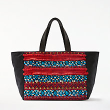 Buy AND/OR Atala Embellished East/West Tote Bag, Multi Online at johnlewis.com