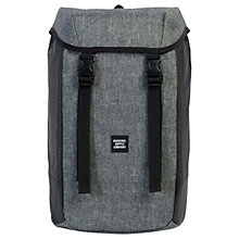 Buy Herschel Supply Co. Iona Backpack, Raven Crosshatch Online at johnlewis.com