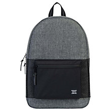 Buy Herschel Supply Co. Settlement Backpack, Raven Crosshatch Online at johnlewis.com