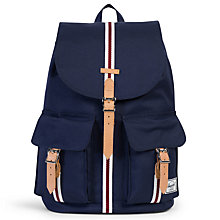 Buy Herschel Supply Co. Offset Dawson Backpack, Navy Stripe Online at johnlewis.com