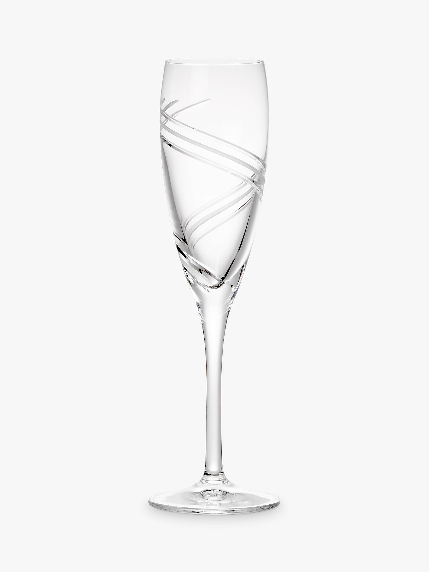Buy John Lewis & Partners Celestial Flutes, 160ml, Clear, Set of 2 Online at johnlewis.com