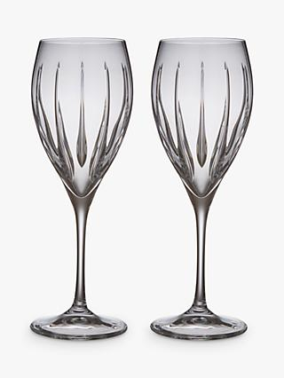 John Lewis & Partners Glacier Wine Glasses, Clear, 301ml, Set of 2
