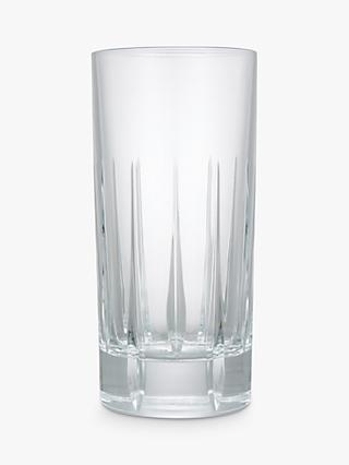 John Lewis & Partners Glacier Highball Glasses, Clear, 360ml, Set of 2