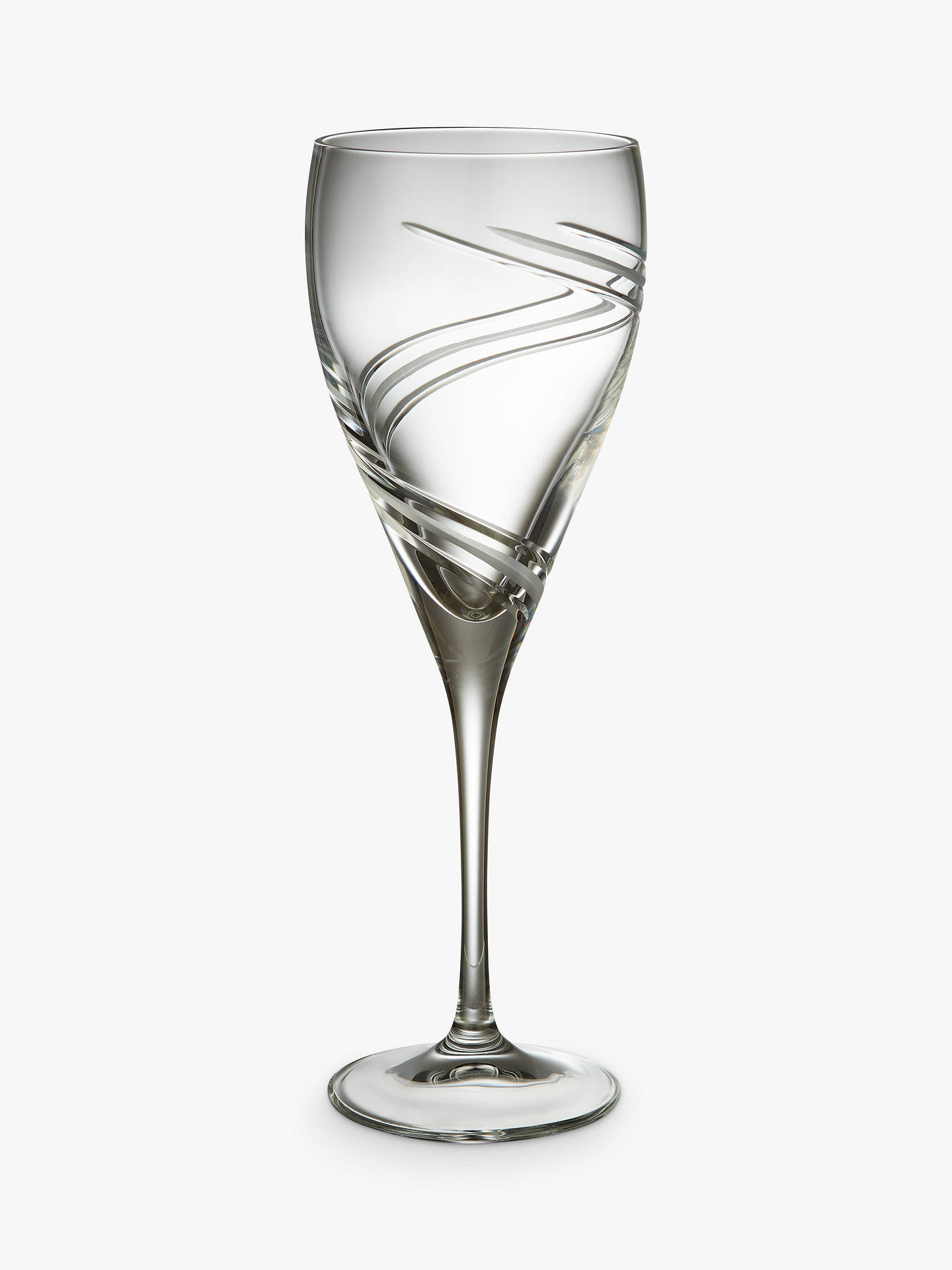 Buy John Lewis & Partners Celestial Glass Wine Goblets, Clear, 338ml, Set of 2 Online at johnlewis.com