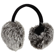 Buy John Lewis Faux Fur Adjustable Ear Muffs, One Size Online at johnlewis.com