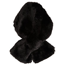 Buy John Lewis Faux Fur Tippet Scarf, One Size Online at johnlewis.com