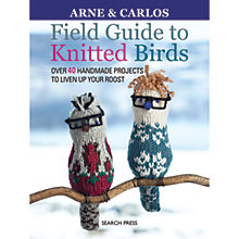 Buy Search Press Field Guide To Knitted Birds Pattern Book by Arne and Carlos Online at johnlewis.com