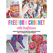 Buy Search Press Freeform Crochet with Confidence Pattern Book by Carol Meldrum Online at johnlewis.com