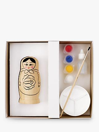House Of Crafts Russian Doll Painting Craft Kit