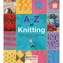 Buy Search Press A-Z of Knitting Book Online at johnlewis.com