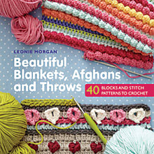 Buy Search Press Beautiful Blankets, Afghans and Throws Crochet Pattern Book by Leonie Morgan Online at johnlewis.com