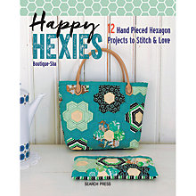 Buy Search Press Happy Hexies Sewing Book Online at johnlewis.com