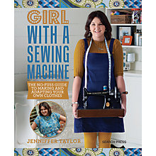 Buy Search Press Girl With a Sewing Machine Book by Jennifer Taylor Online at johnlewis.com