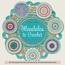 Buy Search Press Mandalas To Crochet Book by Haafner Linsenn Online at johnlewis.com